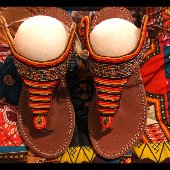 a9e5ed89d African Handmade Leather Sandals Shoes
